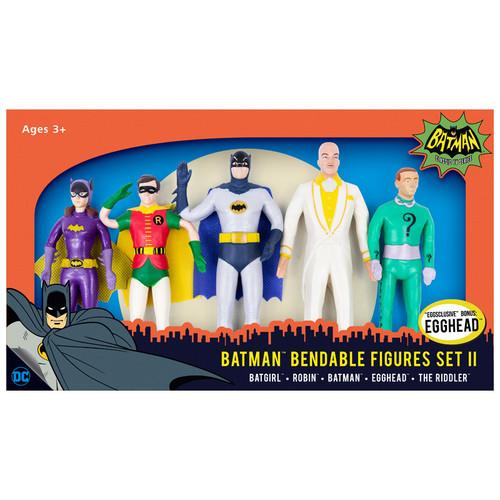 Batman Boxed Bendable Set II with Egghead - Classic TV Series