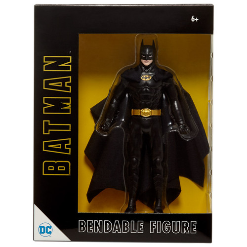 "Michael Keaton Batman 6"" Bendable"
