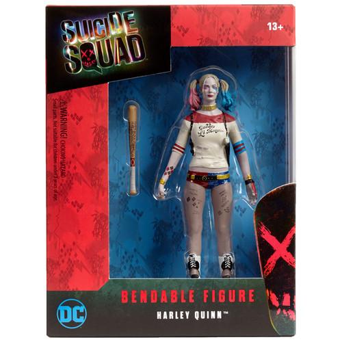 Margot Robbie Harley Quinn Bendable Figure - Suicide Squad