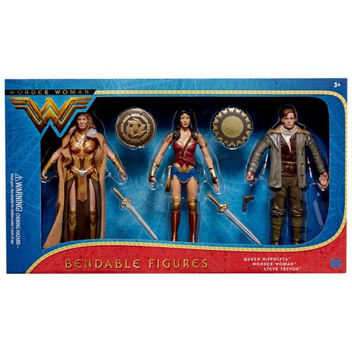Wonder Woman (2017) Movie Bendable 3pc. Boxed Set