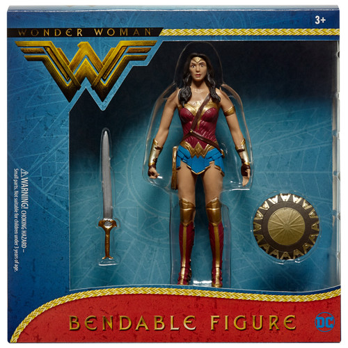 Wonder Woman (2017) Movie Bendable Figure