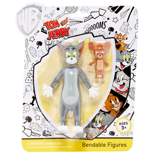 Tom and Jerry Bendable Pair
