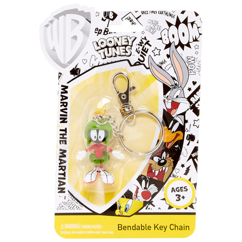 Marvin the Martian Bendable Key Chain