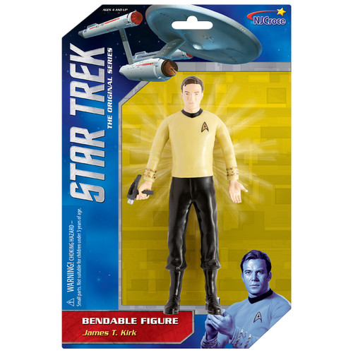 "Star Trek: 6"" Capt. Kirk Benbable"