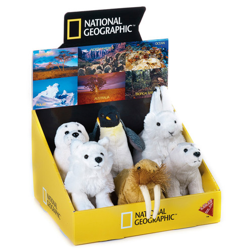 National Geographic Polar Babies 6 pc. Asst.