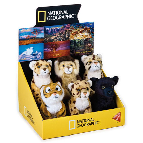 National Geographic Big Cat Babies 6 pc. Asst.