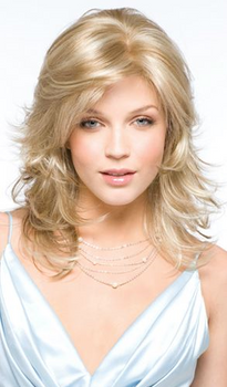 Kelly Synthetic Wig by Amore Monofilament /Hand-Tied