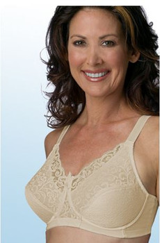 Style 606 Alluring Wire Support with no Wire Mastectomy Bra