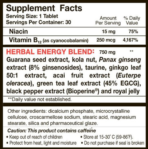 Up Your Gas - Supplement Facts