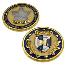 CBSA Canada Border Services Agency Challenge Coin