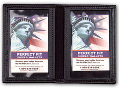 DHS Department of Homeland Security Double ID Leather Case All Agencies