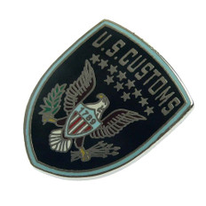 US Legacy U S Customs Inspector Patch Pin