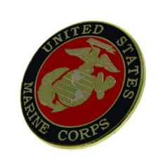 U S Marine Corps USMC Seal Lapel Pin