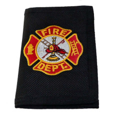 Firefighter Maltese Cross Heavy Duty Nylon Wallet
