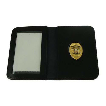 Security Enforcement Officer Leather ID Wallet