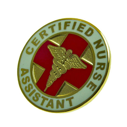 CNA Certified Nurses Assistant Medical Lapel Pin