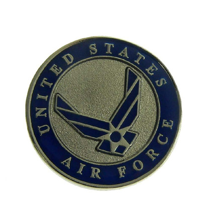 U S Air Force Wings Logo Pin