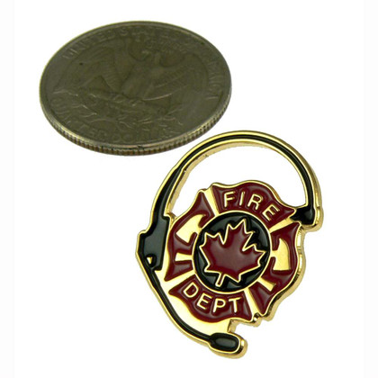 Canadian Fire Department Dispatcher Lapel Pin