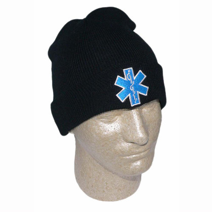 Star of Life Deluxe Embroidered Watch Cap