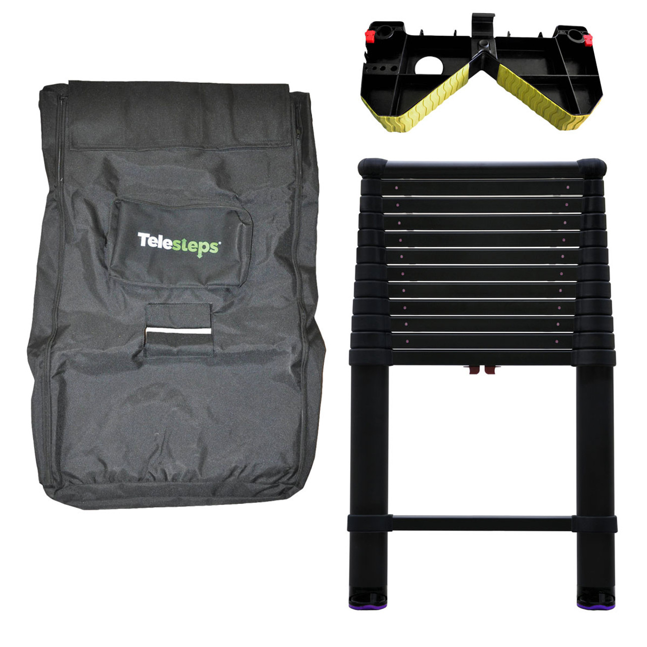 Telesteps 1600et 12 5 Ft Tactical Telescoping Ladders W