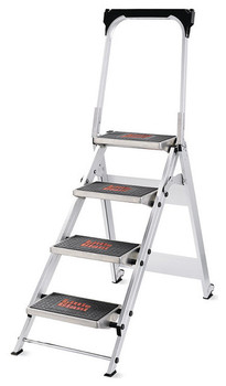 Little Giant Safety Step Stepladder - 4 Step