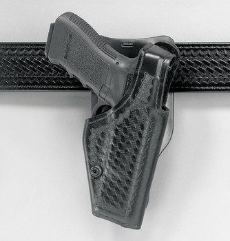 Safariland 2005 Top Gun Low-Ride Level I Retention Holster for Glock 17/22/19/23 - Right Hand - Black - Hi-Gloss