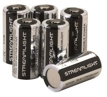 Streamlight 3-Volt Lithium Batteries 6/Pack