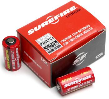 Surefire 123A Lithium Batteries 1200 Bulk Pack