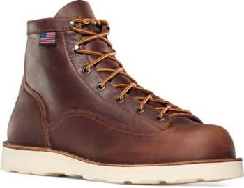 """Danner 15552 Men's Bull Run 6"""" Brown Boots"""