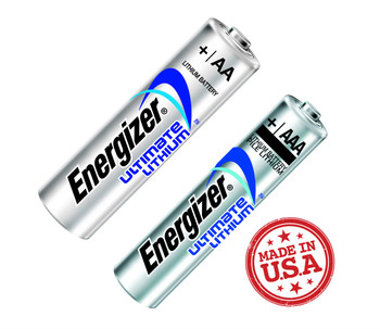 Energizer AA & AAA Lithium Ion Batteries 12 Pack