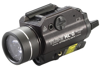 Streamlight TLR-2 HL G Gun Light w/Green Laser 800 Lumens