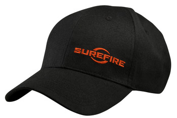 Surefire Adjustable Logo Cap BLACK