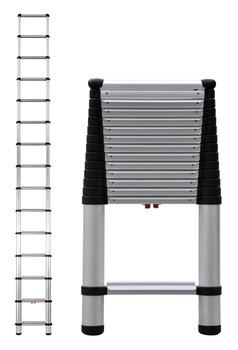 Telesteps 1800EP Heavy Duty Professional Wide Step Telescoping Ladders