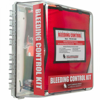 North American Rescue 80-0471 Basic Public Access Bleeding Control Station