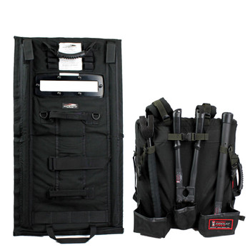 RAT Rapid Assault Tools First Responders Entry Kit Backpack w/Shield
