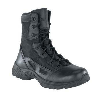 "Reebok RB8285 Ultra Lite Velocity Soft Toe 8"" Side Zipper Boots -CLOSEOUT"