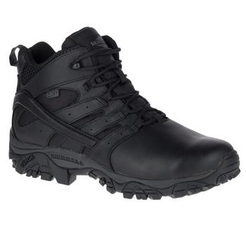 Merrell MOAB 2 Mid Tactical Response Black Waterproof Boots