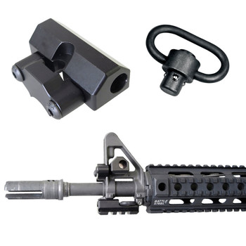 Battle Steel AR15/M4 Sight Tower QD Sling Mount