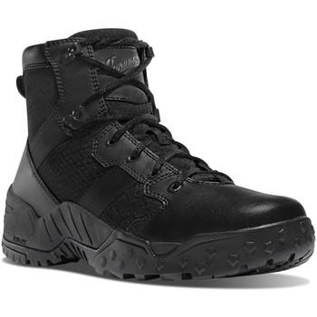 """Danner 25730 Men's Scorch Side-Zip 6"""" Black Boots"""