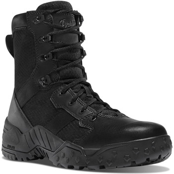 """Danner 25732 Men's Scorch Side-Zip 8"""" Black Boot"""