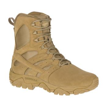 """Merrel J17765 MOAB 2 Men's Tactical Defense Waterproof 8"""" Coyote Boots"""