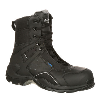 Rocky 911113 1st Med Duty Boots w/Side Zipper BLACK