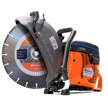 Husqvarna K760 Power Cutter w/FR3 Wet/Dry Diamond Blade