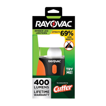 Rayovac SPBUGLN3D-BA Amber LED Lantern 400 Lumens
