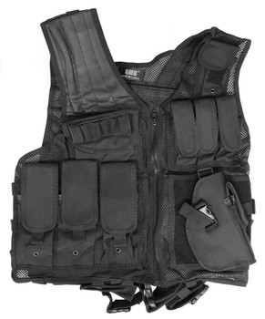 GMG Tactical Vest, Black