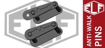 Elftmann AR-15 Non-Rotating Anti-Walk Pins