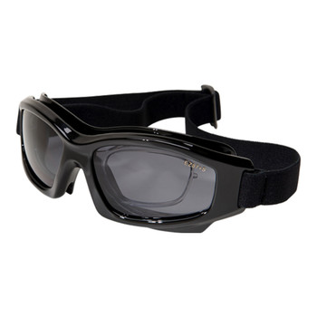 Edge HS116 Speke Low Profile Safety Goggles w/Rx Insert