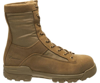 Bates E08693 Ranger Coyote Brown Leather Hot Weather Boots
