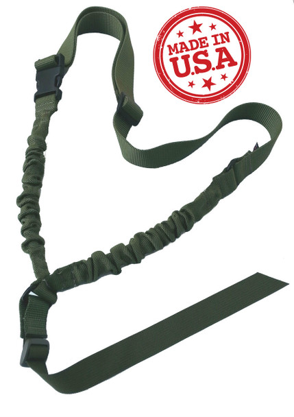 KZ Single Point Universal Bungee Sling w/Universal Attach Strap