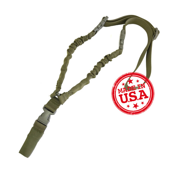 Kley-Zion Single Point Bungee Sling w/Remington 870 Ambidextrous Sling Loop
